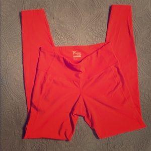 Bright full length leggings